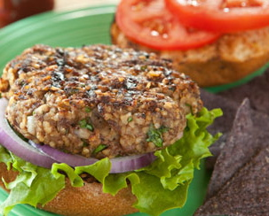 Chicken Burgers with Fresh Parsley & Cracked Wheat ...
