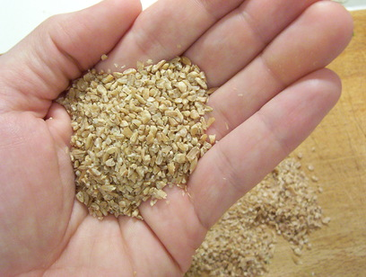 Cracked Wheat Kernels