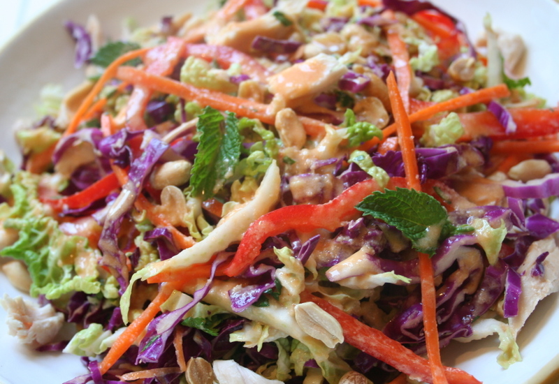 The Kosher Gourmet: BBQ time saver: Asian cole slaw takes just minutes ...