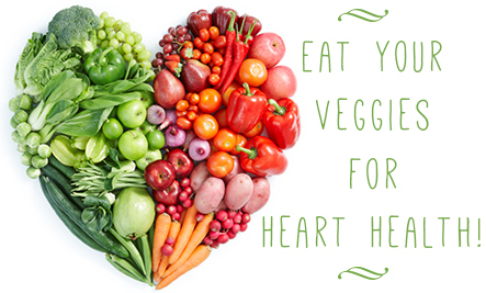 heart-health month veggies-